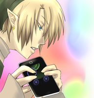 ipod link WIP by KNoT-chan