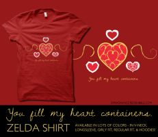 You fill my heart containers. by digitalfragrance