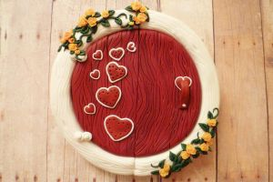 Hearts in Flight 2  Fairy Door by FlyingFrogCreations