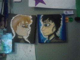 SherJohn canvases by TheFantasticJess