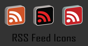 RSS Feed Icons by mata-mhari
