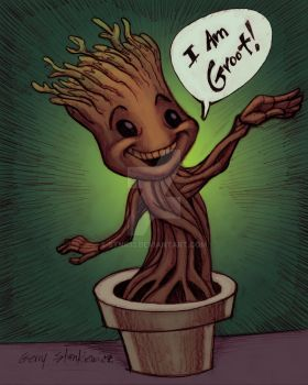 Baby Groot by Stnk13