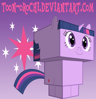 Twilight Sparkle cubee by Toon-Orochi