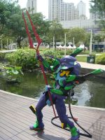 EVA-01 at Central Park Mall12 by V-male