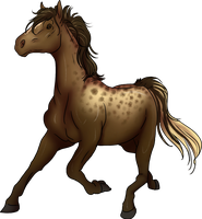 Horse (commission) by toast4nat