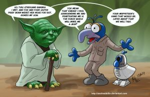 TLIID 194. Yoda Gonzo's father is by AxelMedellin