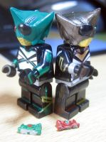 LEGO Kamen Rider Punch  Kick Hopper from KABUTO by Digger318