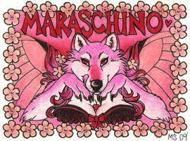 Maraschino Badge by LuthienNightwolf