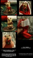 Tiny Ferret Stocking Stuffer by CatharsisJB