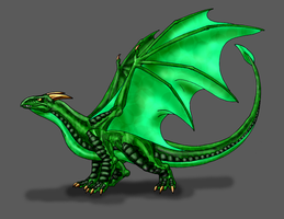 Common Welsh Green by Scatha-the-Worm
