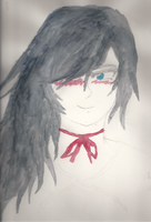 Random Girl Watercolor by One-Mister-Badguy
