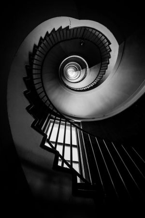 Spiral staircase, revisited by luka567