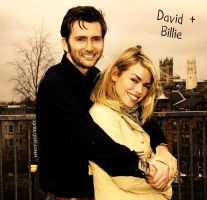 david and billie by WhovianForLife