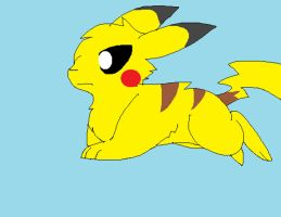 My first run cycle-pikachu by StrikeTheStaraptor