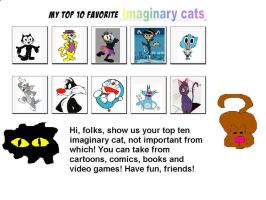 My Top 10 Favorite Cats by SuperMarcosLucky96
