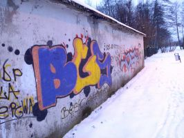 Best Graffiti Style (BGS) by MaciejART