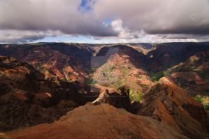 Waimea Canyon by Toriphilewill