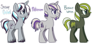 Ponies Batch 5 by Featheries