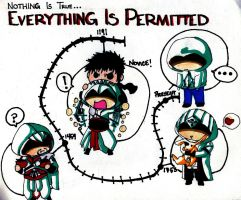 EVERYTHING IS PERMITTED by kandaluvr