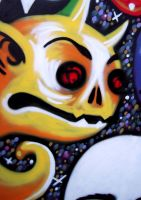 Graffiti - Outer Demons - Detail 1 by CanteRvaniA