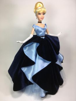 Cinderella Princess Couture Gown OOAK Doll by BLUE-s-DOLLS