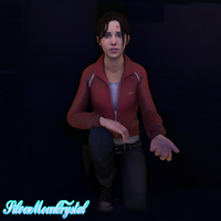 : A helping Hand : - Zoey L4D (Cycles) by SilverMoonCrystal