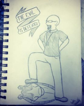 The Evil is Defeated by jady241