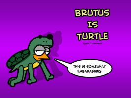 Brutus Is Turtle by chelano