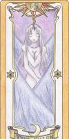 My Clow Card colored by TheDarknessWolf