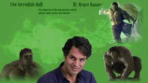 Revised Incredible Hulk Wallpaper by WildHorseFantasy