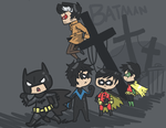 The Bat Family by Hatsu-Robin