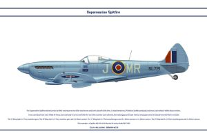 Spitfire Mk XVI GB Air Marshall Robb by WS-Clave