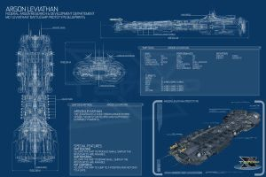 Argon Leviathan blueprint by Enenra