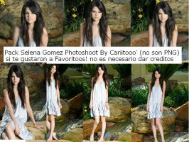 Pack Selena Gomez Photoshoot by Cariitooo
