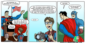 Superman's Citizenship by CuttingRoom