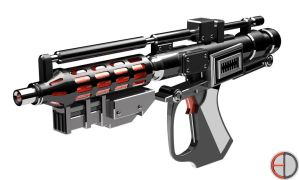 Blaster Rifle - 1 by mech7