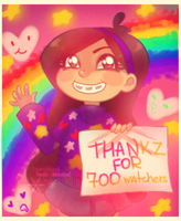 Mabel Thankz You by FROZENVIOLINIST