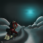 Winter's Trot by Nessia
