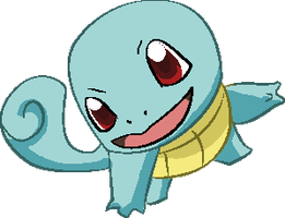 Personnages Libres : 007 Squirtle by Mechamyu
