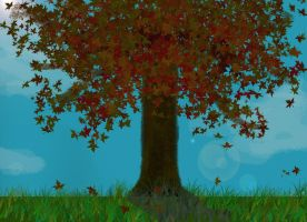 A Maple Tree by The-Nun