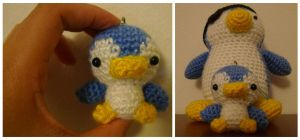 Crochet Mini Penguin by katrivsor