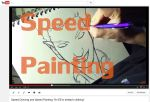 Speed Drawing and Painting Video by ChrisIwanski