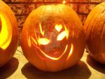 Gaara Pumpkin by ElvenDeathMarch