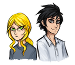 Kate and Gary doodle by TheNeonWerewolf