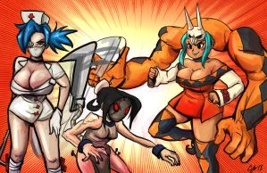 Get Your SkullGirls Today by TheAmericanDream