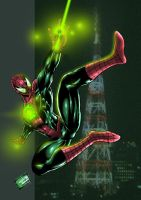 JAM Entry: Green Spiderman by johnbecaro