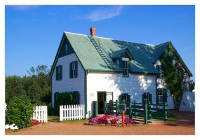 the Anne of Green Gables house by an6el-of-death
