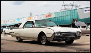 1962 Ford Thunderbird by compaan-art