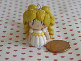 Sailor Moon Princess Clay Charm by sanxcharms