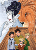 The Lion, the Witch and the Wardrobe by TriaElf9